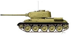 Armourfast T34/85 x2